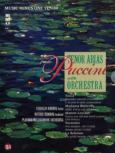9781596155459: Puccini - Arias for Tenor and Orchestra Volume 1