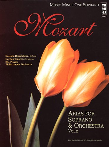 9781596155497: Music Minus One Soprano: Mozart Opera Arias for Soprano and Orchestra, Vol. 2 (Book & CD)