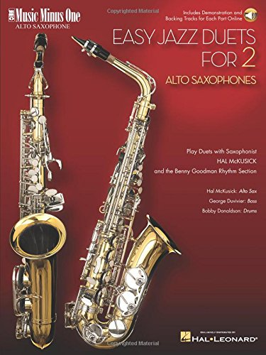 EASY JAZZ DUETS FOR TWO ALTO SAXOPHONES