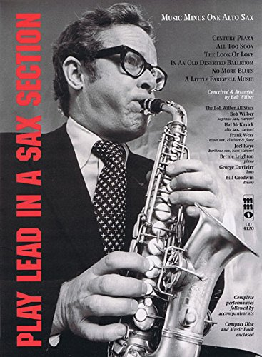 9781596155985: Play Lead In A Sax Section: Tthe Bob Wilber All-Stars Altosaxophone (Music Minus One)