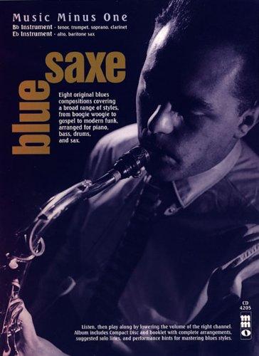 9781596156104: Bluesaxe: Music Minus One Saxophone, Trumpet
