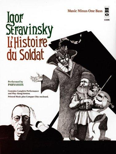 STRAVINSKY L'HISTOIRE DU SOLDAT SEPTET BASS BOOK/CD