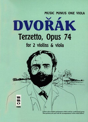 9781596156418: Dvorak String Trio 'Terzetto' in C Major, Op. 74, B148 (2 Violins/Viola)