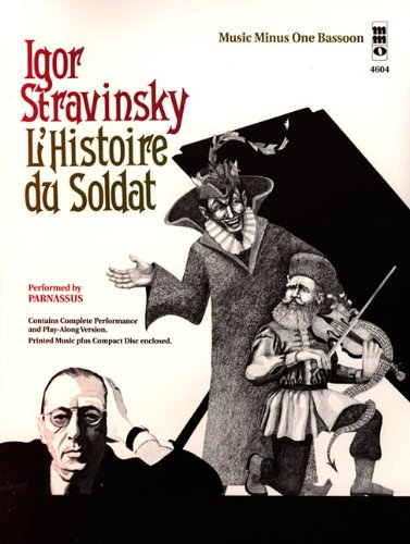 STRAVINSKY L'HISTOIRE DU SOLDAT SEPTET BASSOON BOOK/CD