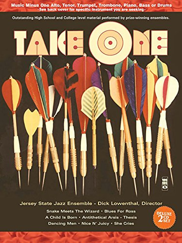9781596156623: Take One: Music Minus One Alto Saxophone Book/2-CD Pack