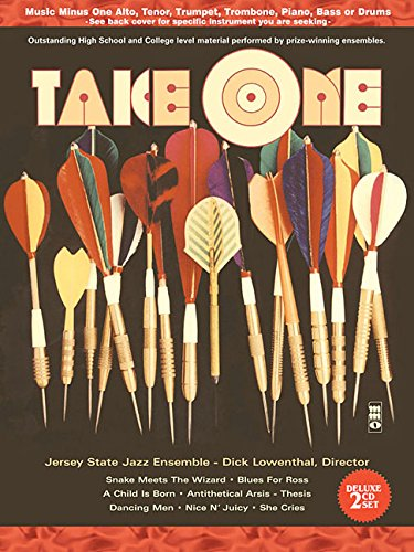 Music Minus One Piano: Take One: Play Jazz Songs with a Big Band (Sheet Music and 2-CD Set): Hal ...