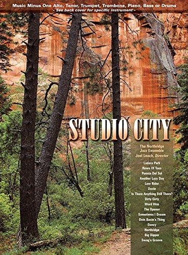 9781596156821: Music Minus One Tenor Sax: Studio City