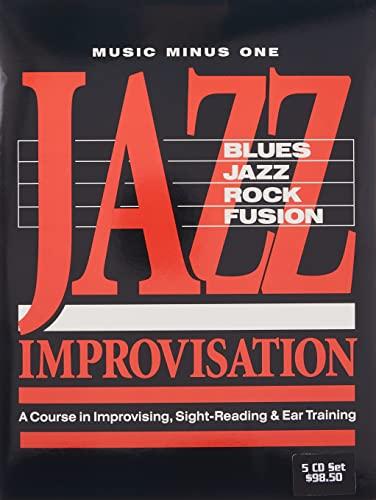Jazz Improvisation: Blues, Jazz, Rock, Fusion: La Course in Improvising, Sight-Reading Ear Training...