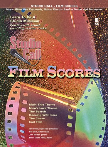 9781596157040: Studio Call: Film Scores - Electric Bass: Learn to Be a Studio Musician (Music Minus One (Numbered))