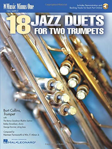 18 JAZZ DUETS FOR TWO TRUMPETS BOOK