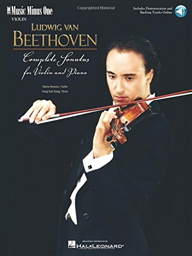 9781596157439: Beethoven Complete Sonatas Violin And Piano (Vln Part And 11 CDs)