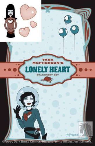 9781596172876: Tara McPherson's Lonely Heart Stationery Set