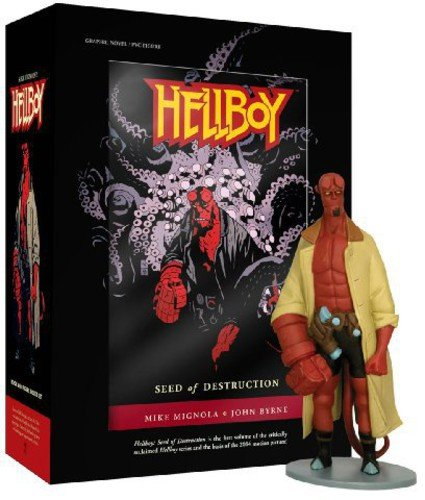 9781596176041: Hellboy Book And Figure Boxed Set