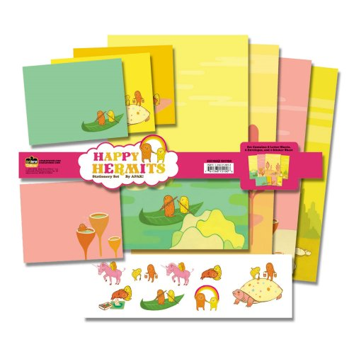 9781596176126: APAK Happy Hermits Stationery Set