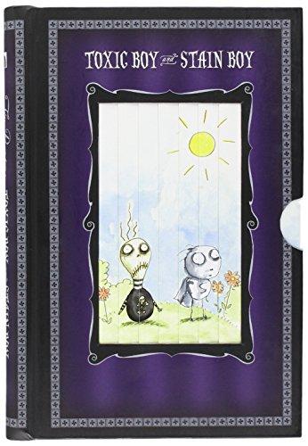 9781596177246: Tim Burton Toxic Boy&Stain Pull Tab Journal