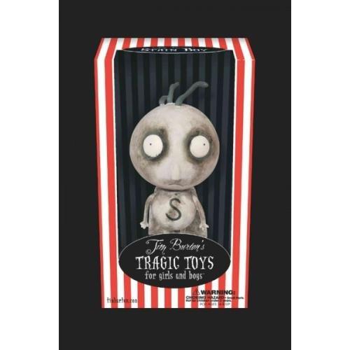 9781596177345: Tragic Toys Stain Boy 7 Inch Vinyl Figure (Tim Burton's Tragic Toys for Girls and Boys)