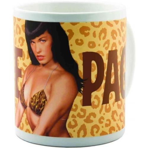 9781596178427: Bettie Page Leopard Skin Mug