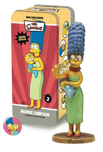 The Simpsons Classic Character #3: Marge Simpson with Maggie: Dark Horse Deluxe