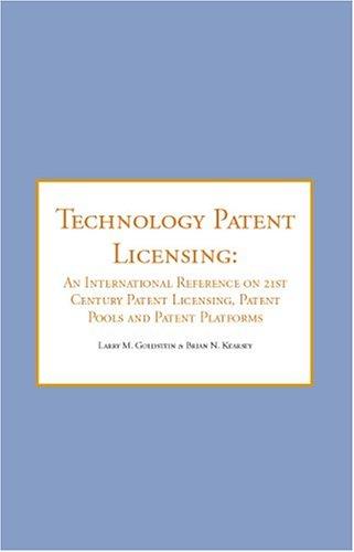 9781596220041: Technology Patent Licen -OS