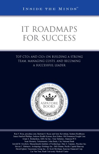 9781596223035: IT Roadmaps for Success: Top CTOs and CIOs on Building a Strong Team, Managing Costs, and Becoming a Successful Leader (Inside the Minds)