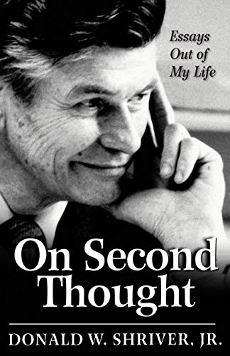 9781596271098: On Second Thought: Essays Out of My Life
