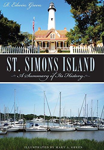 9781596290174: St. Simons Island: A Summary of Its History (Brief History)