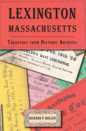 9781596291034: Lexington, Massachusetts:: Treasures from Historic Archives (American Chronicles)