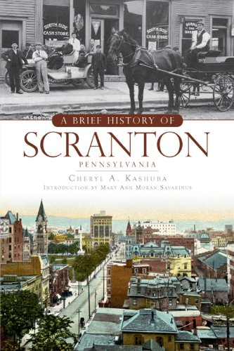 A Brief History of Scranton, Pennsylvania: Cheryl A Kashuba, Mary Ann Moran Savakinus
