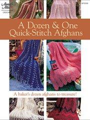 9781596350441: A Dozen & One Quick-Stitch Afghans (8755501) (Annie's Attic #875550)