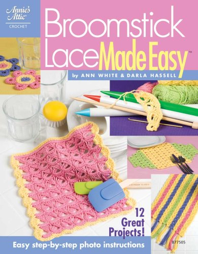 9781596351394: Broomstick Lace Made Easy 877505