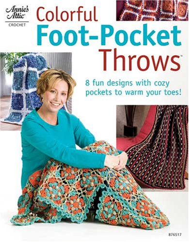 9781596351400: Colorful Foot-Pocket Throws 876517