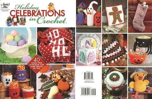 9781596352117: Holiday Celebrations in Crochet (Annie's Attic, 878527)
