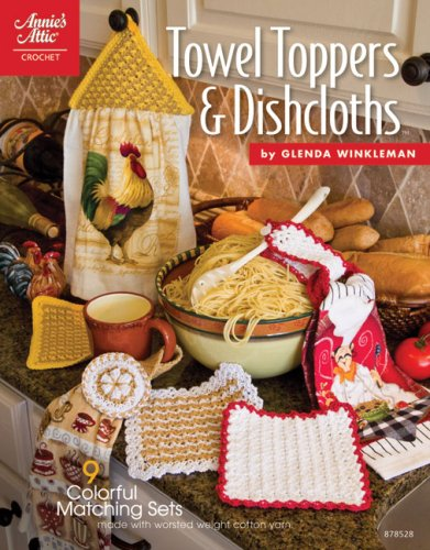 9781596352124: Towel Toppers & Dishcloths (Annie's Attic: Crochet)