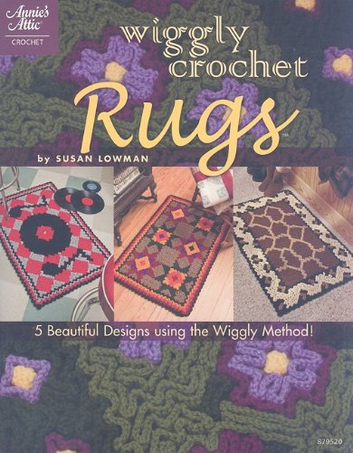 9781596352551: Wiggly Crochet Rugs (Annie's Attic: Crochet)