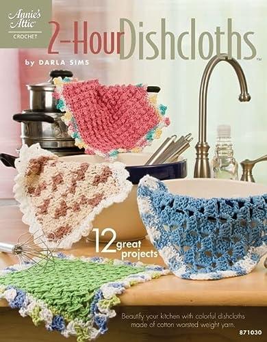 9781596353039: 2-Hour Dishcloths (Annie's Attic: Crochet)