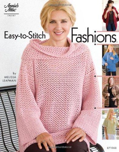 9781596353633: Easy-to-Stitch Fashions (Annie's Attic Crochet)