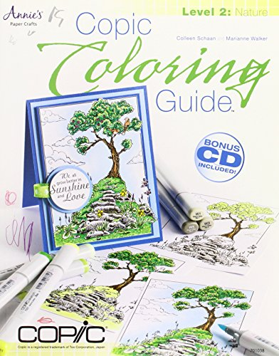 9781596354098: Copic Coloring Guide Level 2: Nature