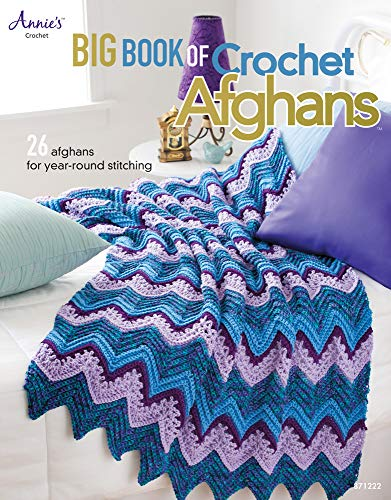 9781596354821: Big Book of Crochet Afghans: 26 Afghans for Year-Round Stitching (Annie's Crochet)