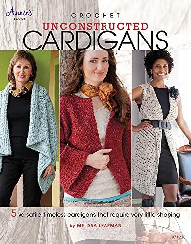 9781596354838: Crochet Unconstructed Cardigans