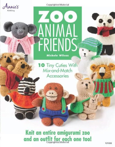9781596357372: Zoo Animal Friends: 10 Tiny Cuties with Mix and Match Accessories (Annie's Knitting)
