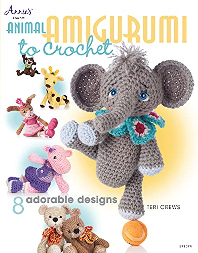 9781596357761: Animal Amigurumi to Crochet (Annie's Crochet)