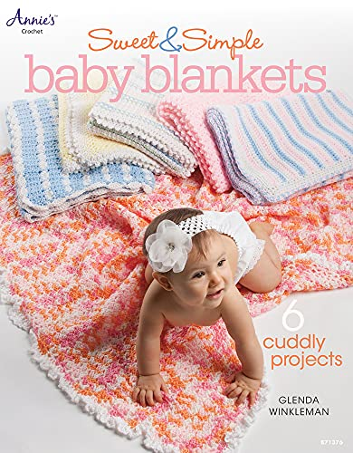 9781596357846: Sweet & Simple Baby Blankets (Annie's Crochet)