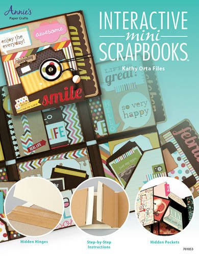 9781596358171: Interactive Mini Scrapbooks (Annie's Paper Crafts)