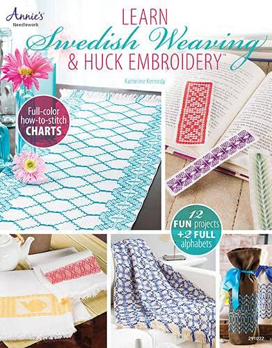 9781596359062: Learn Swedish Weaving & Huck Embroidery (Annie's Needlework)