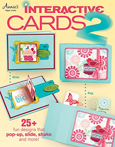 9781596359796: Interactive Cards 2: 25+ Fun Designs That Pop-up, Slide, Shake and More!