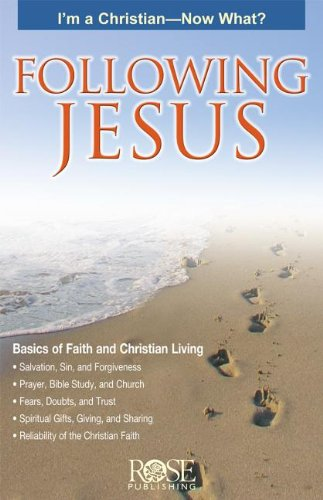 9781596360396: Following Jesus pamphlet -pkg of 5 pamphlets (Following Jesus Basics of Faith and Christian Living)
