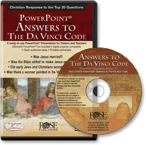 9781596360501: Answers to the Da Vinci Code (PowerPoint Presentation)
