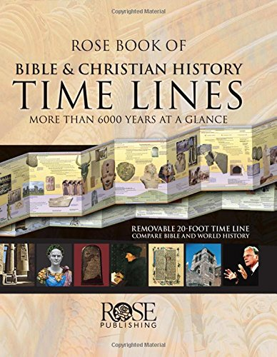 9781596360846: Rose Book of Bible & Christian History Time Lines: More Than 6000 Years at a Glance