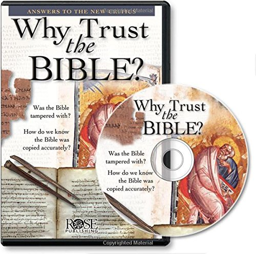 9781596361560: Why Trust the Bible?: Answers to the New Critics (PowerPoint Presentation)