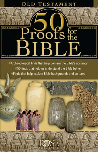 9781596361584: 50 Proofs for the Bible: Old Testament